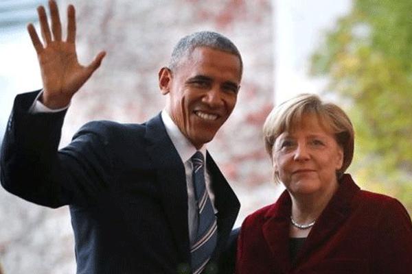 أوباما وميركل لترامب: لا عودة عن العولمة
