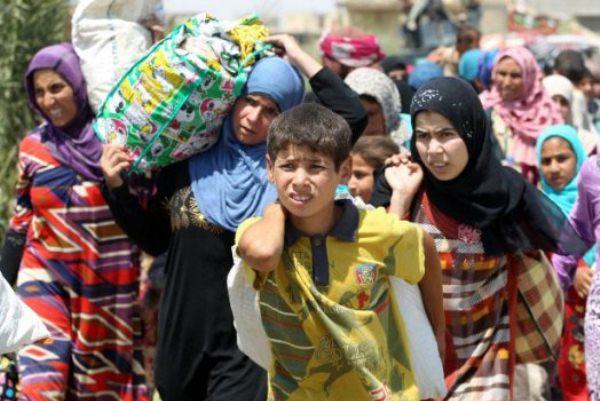 الموصل: نزوح جماعي بسبب قصف المدنيين والبرد