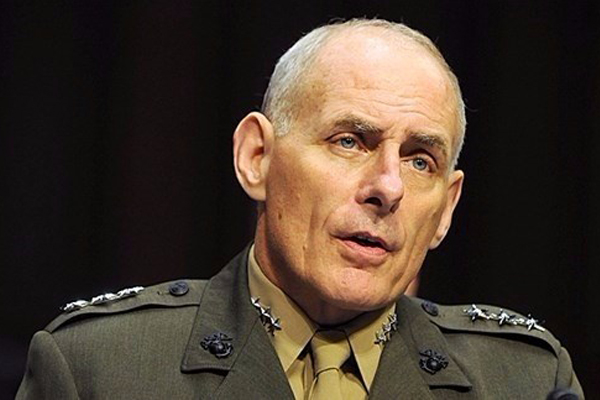 الجنرال المتقاعد جون كيلي
