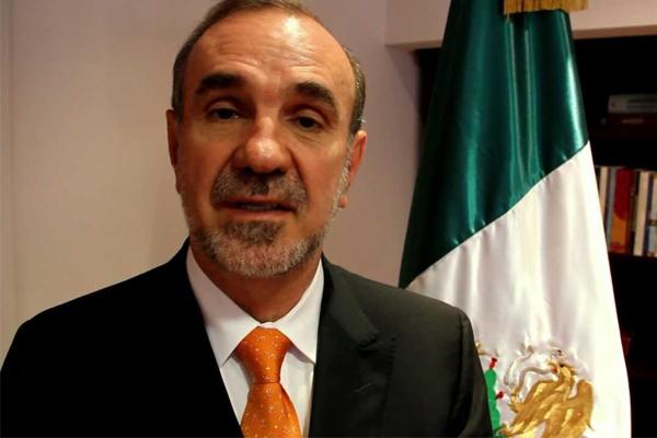 السفير المكسيكي لدى واشنطن، كارلوس مانويل سولانا