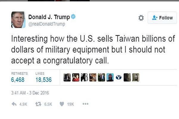 ترامب مدافعا عن نفسه عبر حسابه على تويتر