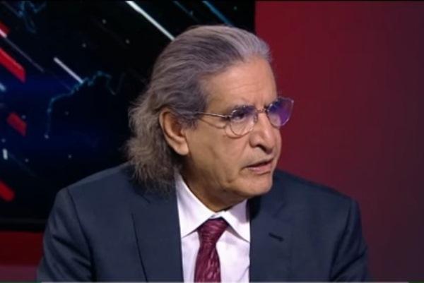 عثمان العمير خلال اللقاء على قناة آر تي الروسية