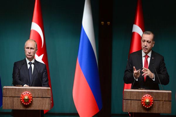 لقاء سابق جمع إردوغان وبوتين