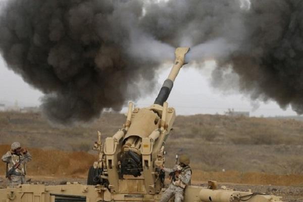 المدفعية السعودية تواصل ضرباتها على الحوثيين المتسللين على الحدود