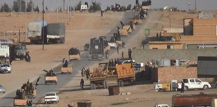 قوات عراقية على جبهة المواجهة مع داعش في الموصل