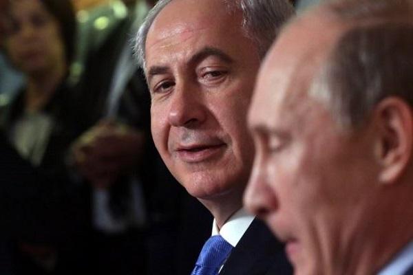 بوتين ونتانياهو في لقاء سابق- ارشيف