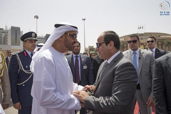 الرئيس السيسي والشيخ محمد بن زايد