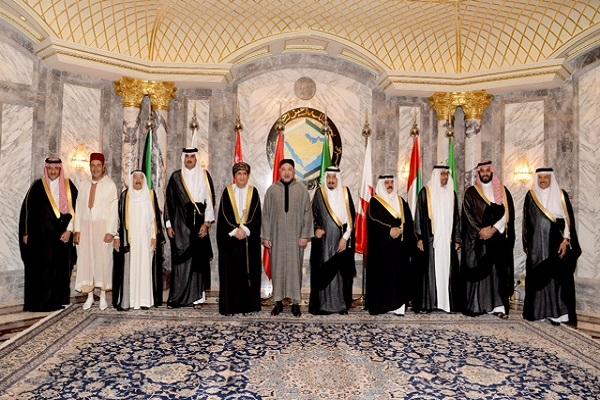 المشاركون في القمة الخليجية المغربية