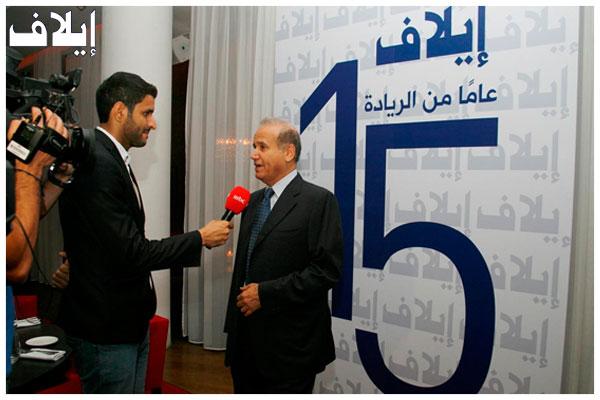 الإعلامي عبدالرحمن الراشد متحدثا عن تجربة إيلاف