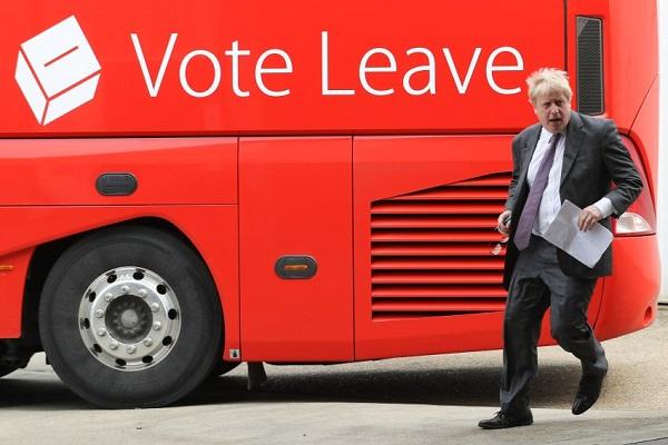 بوريس جونسون، عمدة لندن السابق يقود حملة بريكسيت