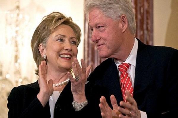 عشيقة بيل كلينتون هيلاري متآمرة ومتواطئة