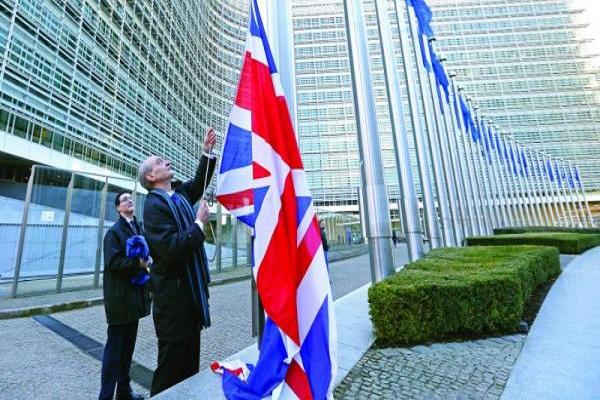 70 في المئة قالوا ان الاتحاد الاوروبي سيتضرر إذا قرر البريطانيون الانسحاب