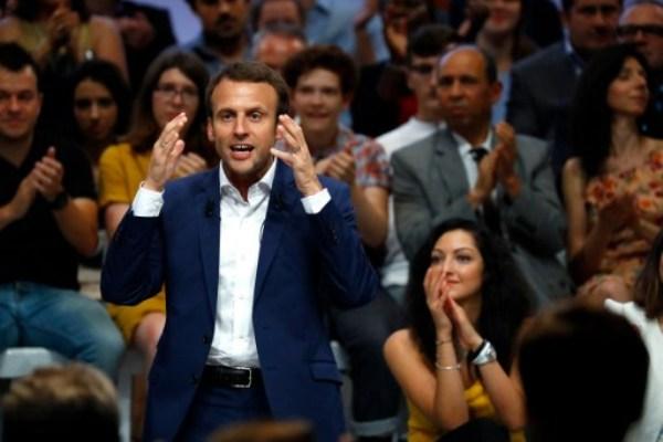 وزير الاقتصاد الفرنسي مانويل ماكرون