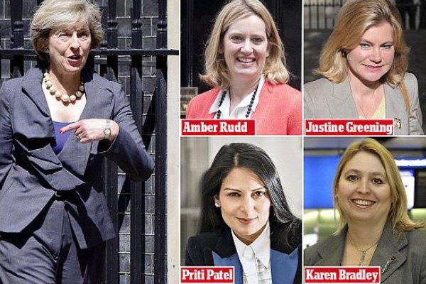 ماي و4 وزيرات قويات مرشحات (ديلي ماي)