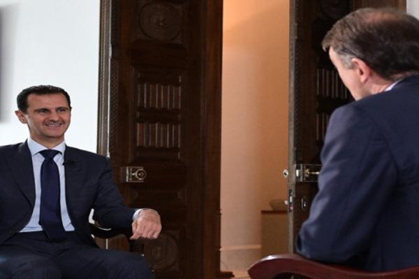 الأسد: الصحافية كولفن مسؤولة عن كل ما حدث لها