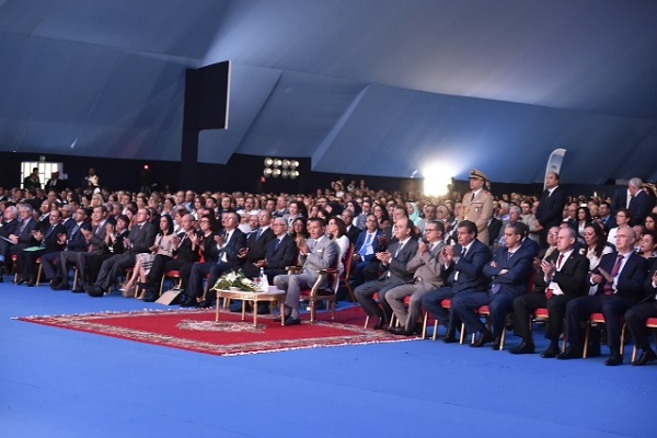 الامير مولاي رشيد لدى افتتاحه مؤتمر ميد كوب المناخ في طنجة اليوم