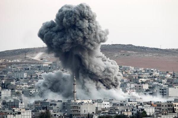 قتل عشرات المدنيين في منبج بريف حلب في سوريا