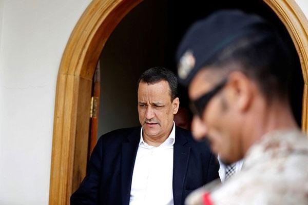 مبعوث الأمم المتحدة إلى اليمن إسماعيل ولد الشيخ أحمد