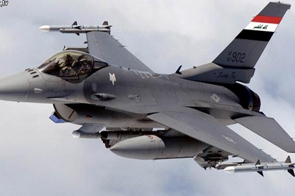 مقاتلة أف 16 عراقية في مهمة قتالية ضد اهداف لداعش
