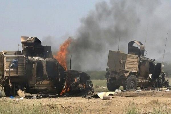 تدمير عربات عسكرية تابعة للحوثيين قرب حدود نجران