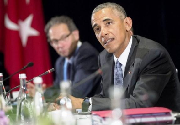 أوباما متحدثا للصحافيين في قمة العشرين بالصين