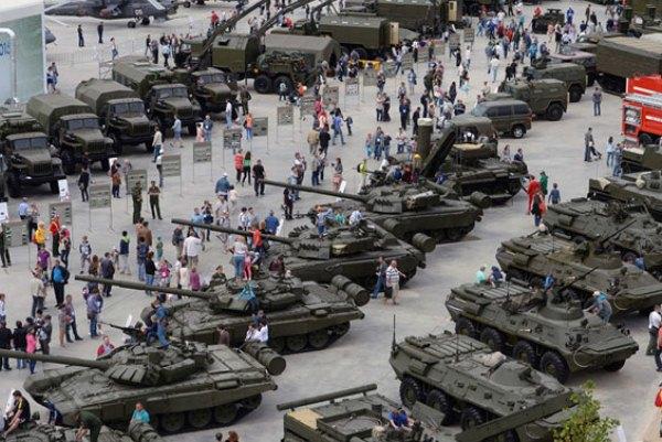 جانب من المنتدى العسكري الروسي