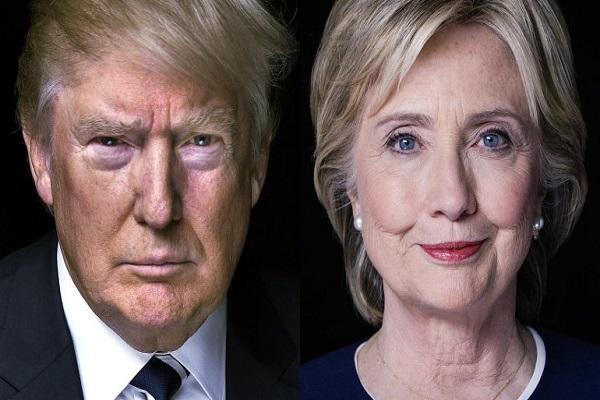 هيلاري كلنتون ودونالد ترامب