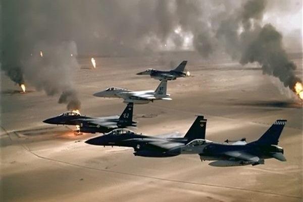 غارات جوية مكثفة لطائرات التحالف العربي على مواقع الميلشيات في صتعاء