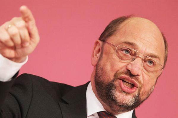 رئيس البرلمان الاوروبي مارتن شولتز