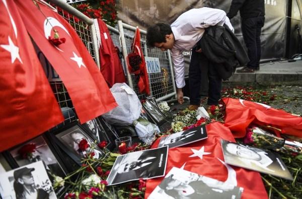 ورود وصور للضحايا في مكان اعتداء اسطنبول