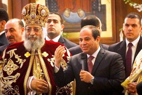 السيسي يزور الكنيسة للمرة الثالثة لتهنئة الأقباط بعيد الميلاد