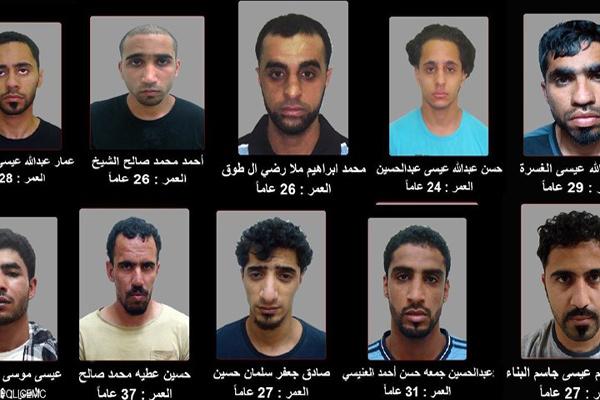 الإرهابيون الهاربون من السجن