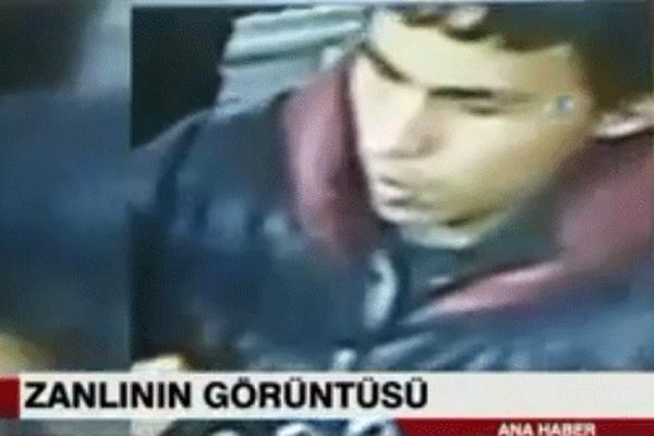 صورة للارهابي نشرتها وسائل الاعلام التركية
