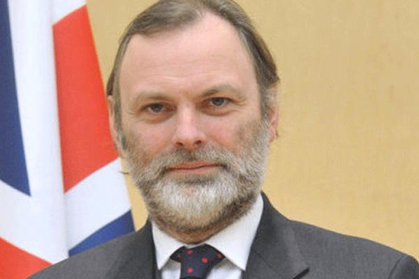 السفير البريطاني الجديد لدى الاتحاد الأوروبي