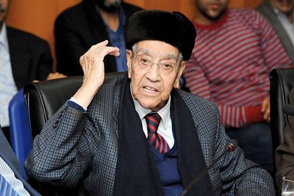 محمد بوستة الأمين العام الأسبق لحزب الاستقلال