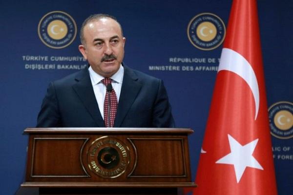 وزير الخارجية التركي مولود تشاوش اوغلو