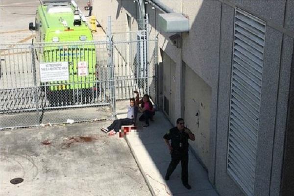 أحد الجرحى الذين أصيبوا بالهجوم