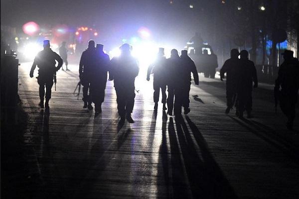 قوات امن افغانية تمشط المنطقة بعد وقوع هجمة في قندهار