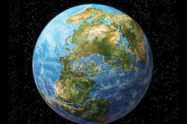 انحراف القارات عن بعضها البعض عقب تفكك احدى القارات العملاقة