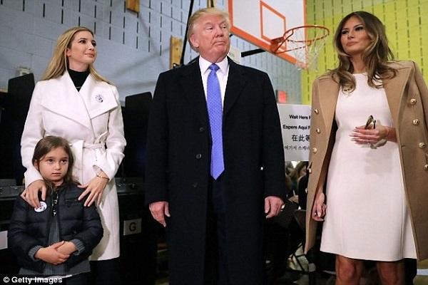 ترامب وعائلته