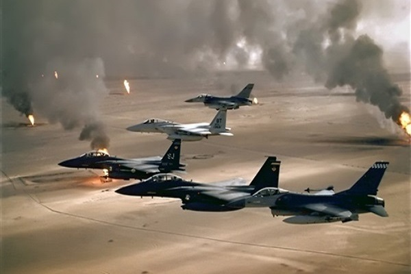 غارات مكثفة لقوات التحالف العربي على مواقع الحوثيين في صنعاء
