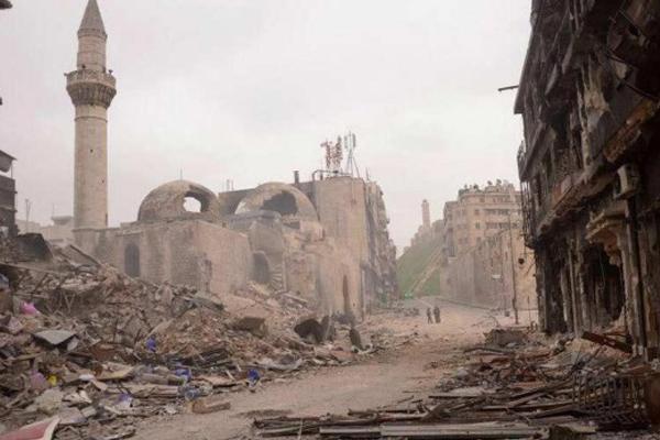 فريق اليونسكو يقدم جرداً للخسائر الجسيمة التي تعرضت لها أماكن أثرية عديدة في حلب