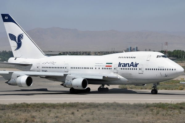 طائرة تابعة للطيران الإيراني