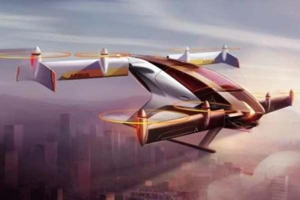 ايرباص تختبر سيارة طائرة بحلول نهاية عام 2017