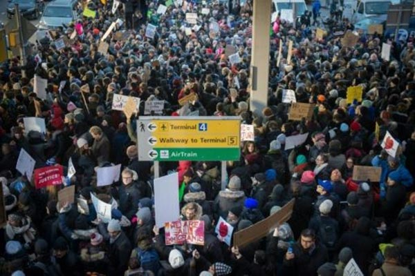 المدافعون عن المهاجرين يربحون جولة أولى ضد ترامب