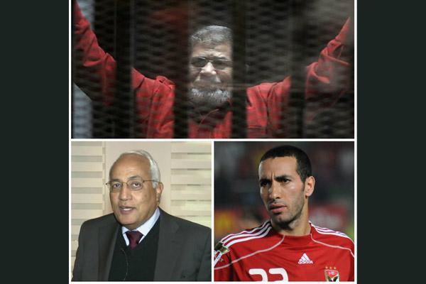 مرسى وأبو تريكة وصفوان ثابت و1535 على قوائم الارهابيين