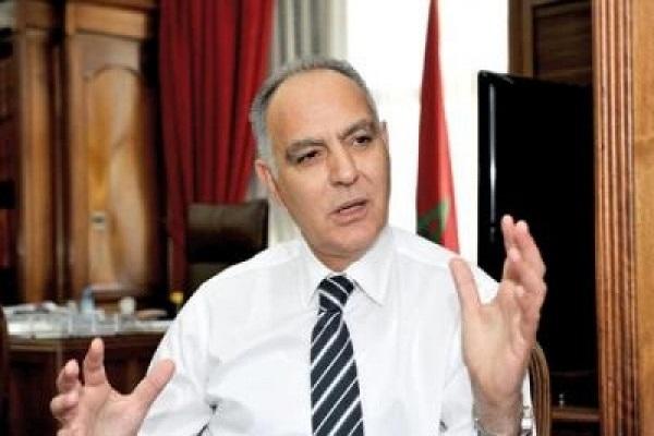 وزير خارجية المغرب صلاح الدين مزوار