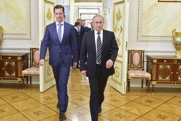 بوتين وبشّار الأسد في قمة سابقة (أرشيف)