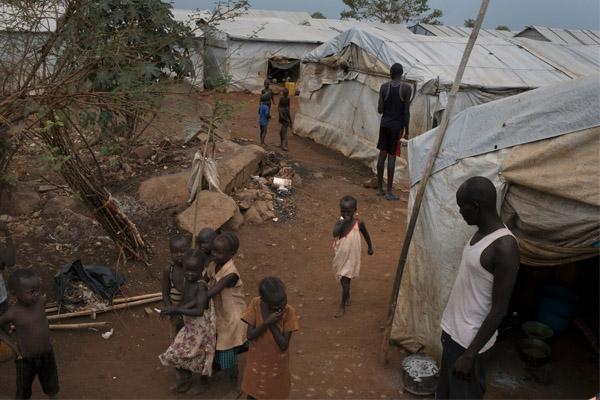 الحرب الأهلية في دولة جنوب السودان أسفرت عن ملايين من الجياع أو النازحين.