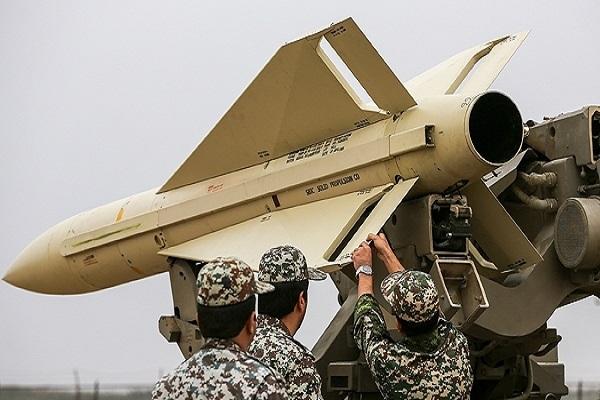 إحدى منظومات الصواريخ المشاركة في المناورات